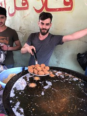 Falafel at the Beirut Palestinian Camp
