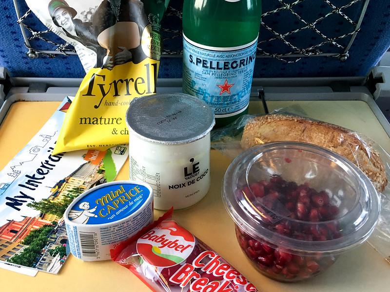 Matsäck tåg