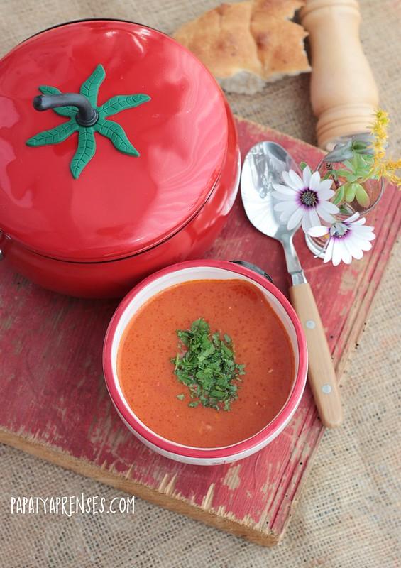 pirinçli domates çorbası 005