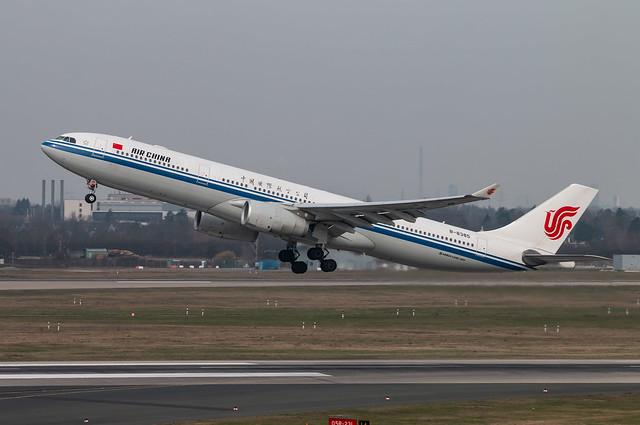 EDDL / Airbus A330 / B-8385