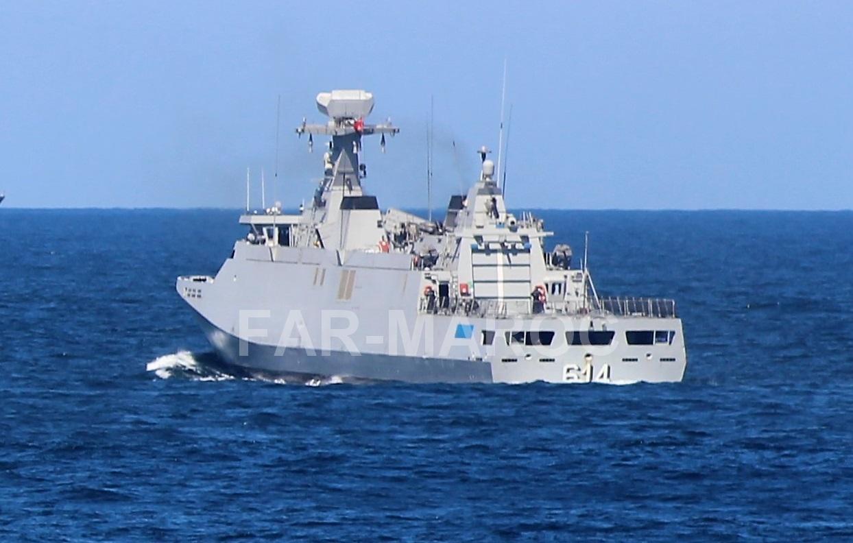 Royal Moroccan Navy Sigma class frigates / Frégates marocaines multimissions Sigma - Page 25 47762470722_dabc0550bc_o