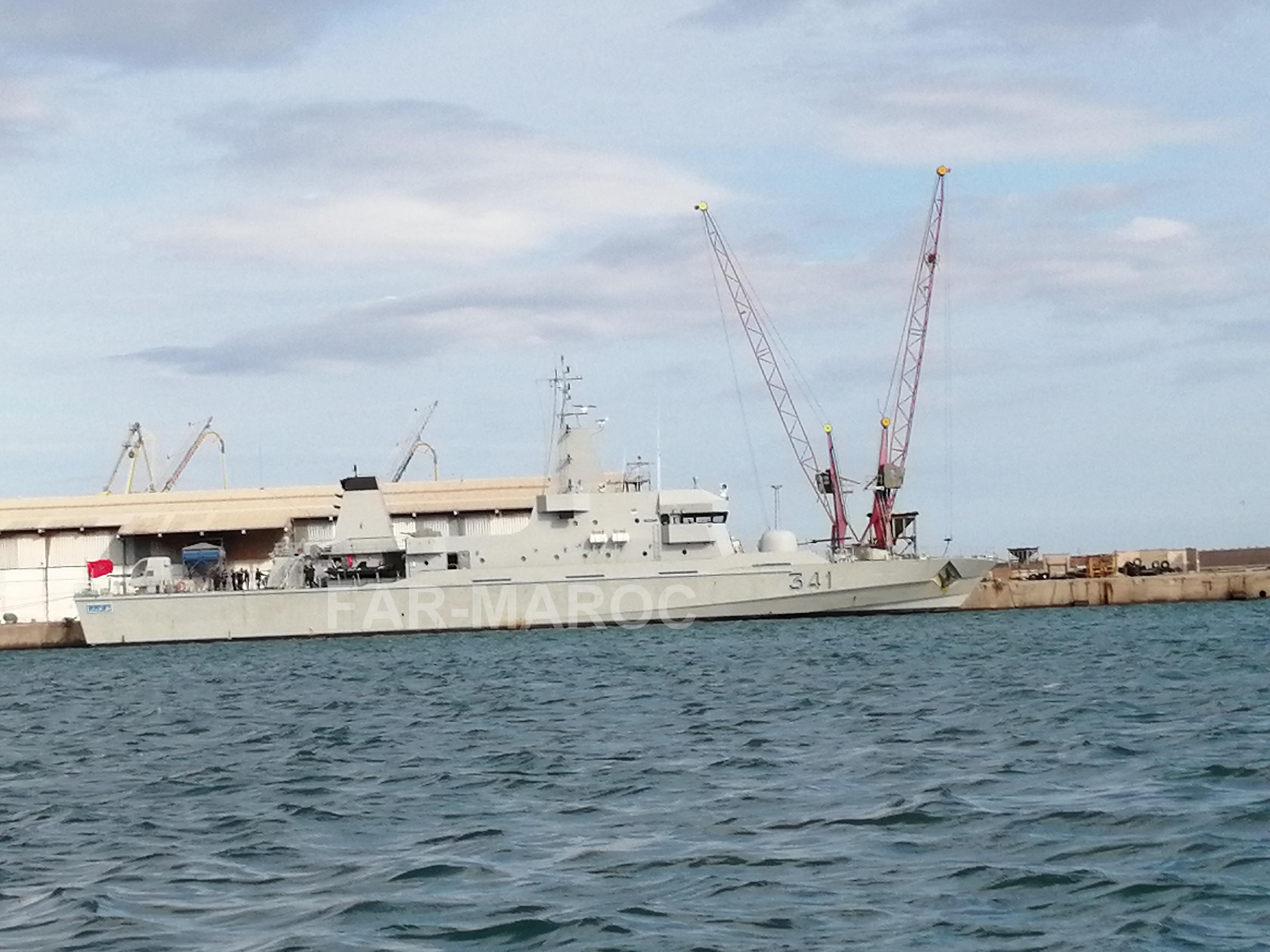Royal Moroccan Navy OPV-70 / Classe Bir Anzarane - Page 6 47762475722_0483f22388_o