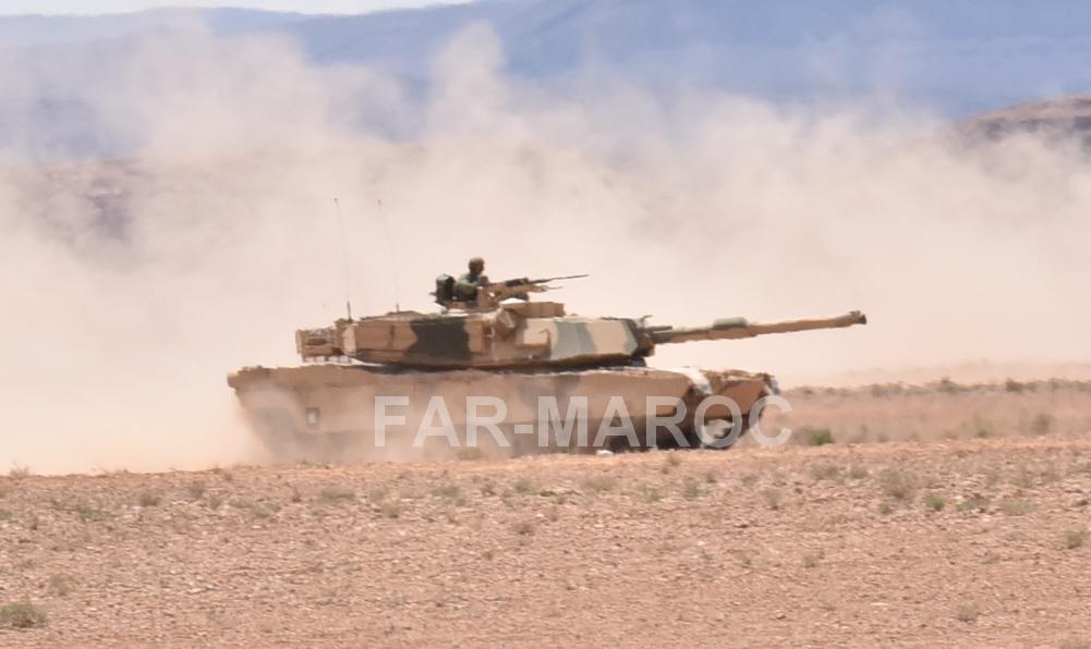 M1A1 SA ABRAMS Marocains / Moroccan M1A1 SA ABRAMS 47762735532_9900a1aac6_o