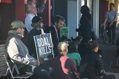 Meditating at Vigil outside Peter Khalil office #climatestrike #Fridaysforfuture - IMG_4584