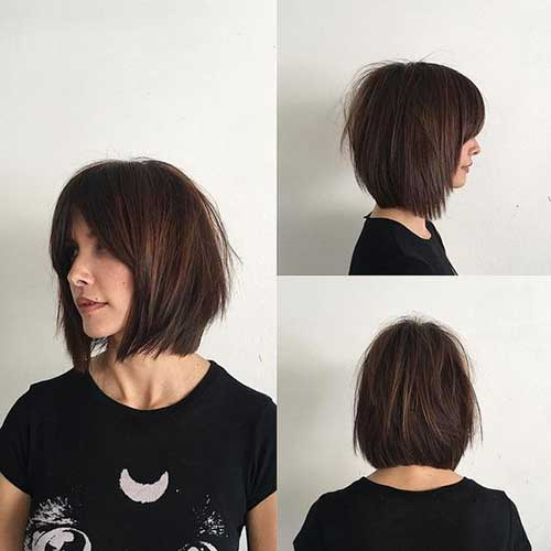 Best Short Haircuts With Curtain Bangs 2019