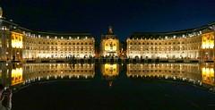 Bordeaux (Gironde, Fr) – Place de la Bourse & miroir d'eau