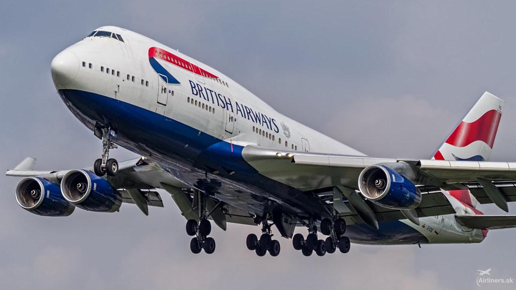 G-CIVG British Airways Boeing 747-436