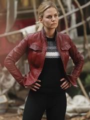 Once Upon A Time Jennifer Morrison Maroon Jacket