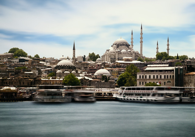 The Old Port of Istanbul
