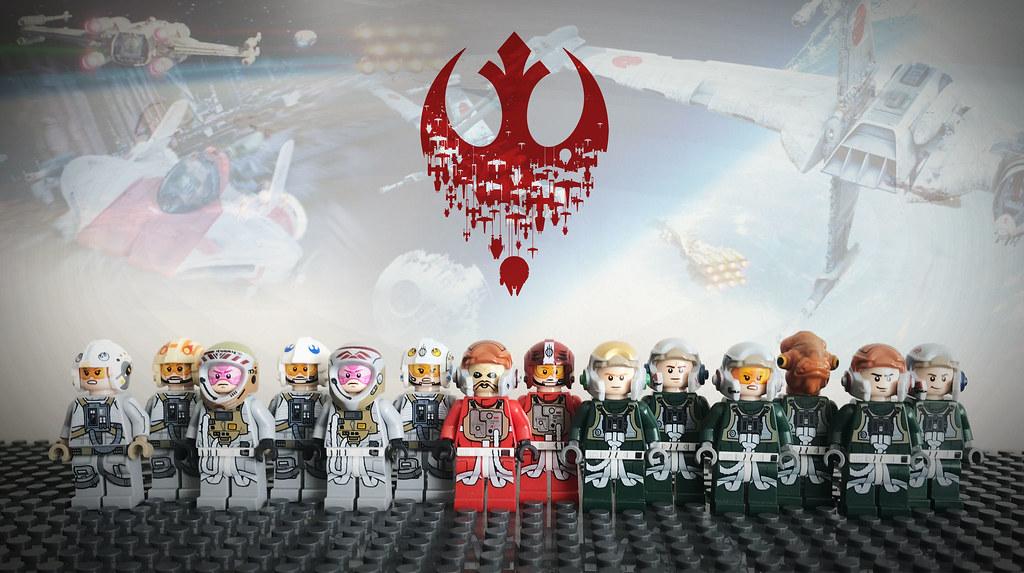 LEGO STAR WARS REBEL PILOTS