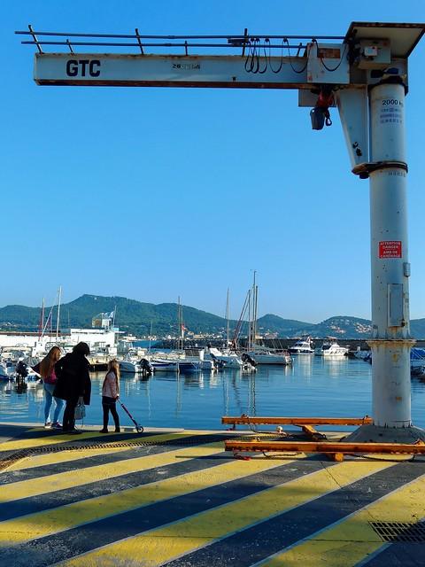 Les Lecques harbour / Fairing area