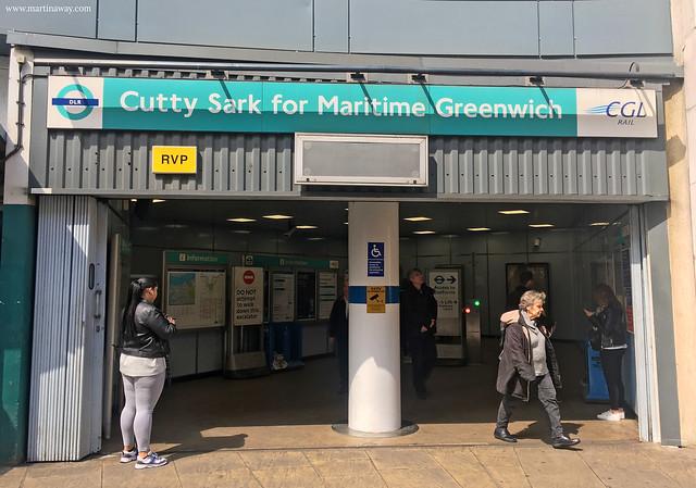 Stazione DLR di Greenwich