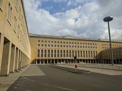 Casually strolling into the @counterpart_stz Office of Interchange! (aka Tempelhof Airport, Berlin)