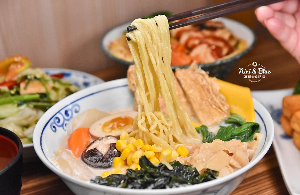 台中一中素食 滷菩提 中友素食 中國醫美食21
