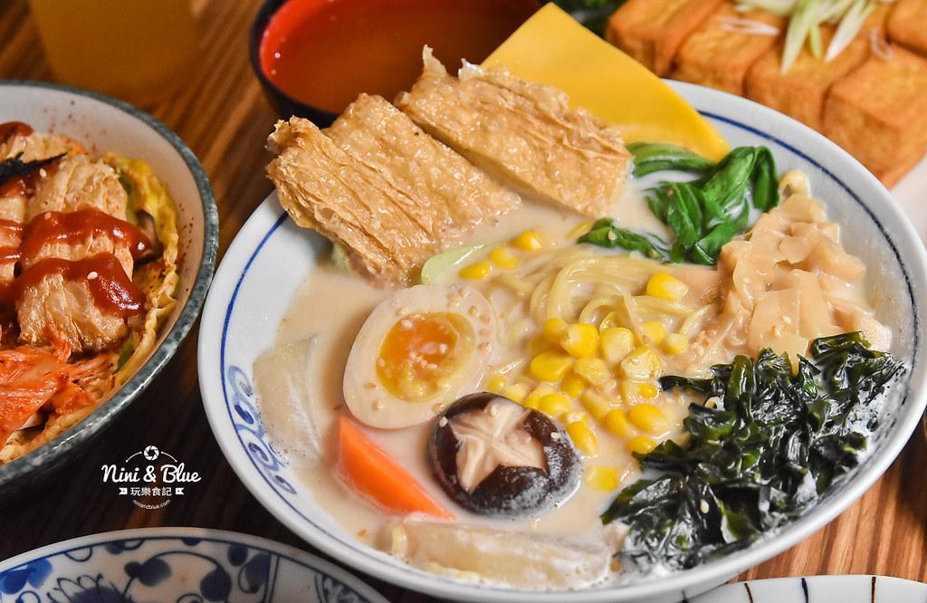 台中一中素食 滷菩提 中友素食 中國醫美食19