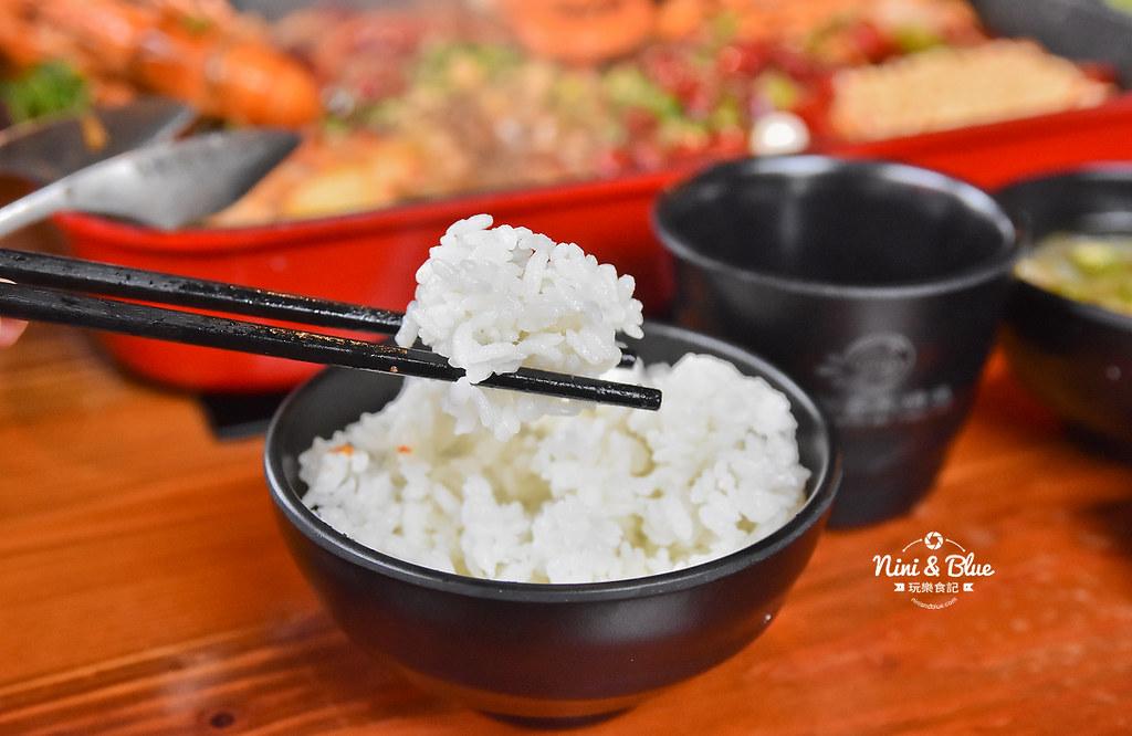 漁知香木桶魚 台中逢甲美食 麻辣烤魚 小龍蝦 水煮牛 四川烤魚39
