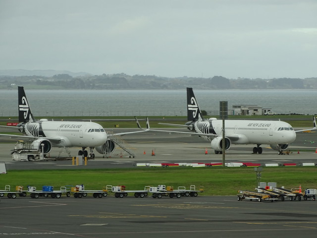 Air New Zealand Airbus A321NEOs ZK-NNB & NND