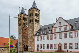 Ehemalige Abteikirche Ilbenstadt und Konventsbau