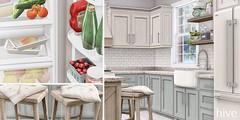 *updated* hive // modular modern farmhouse kitchen | uber
