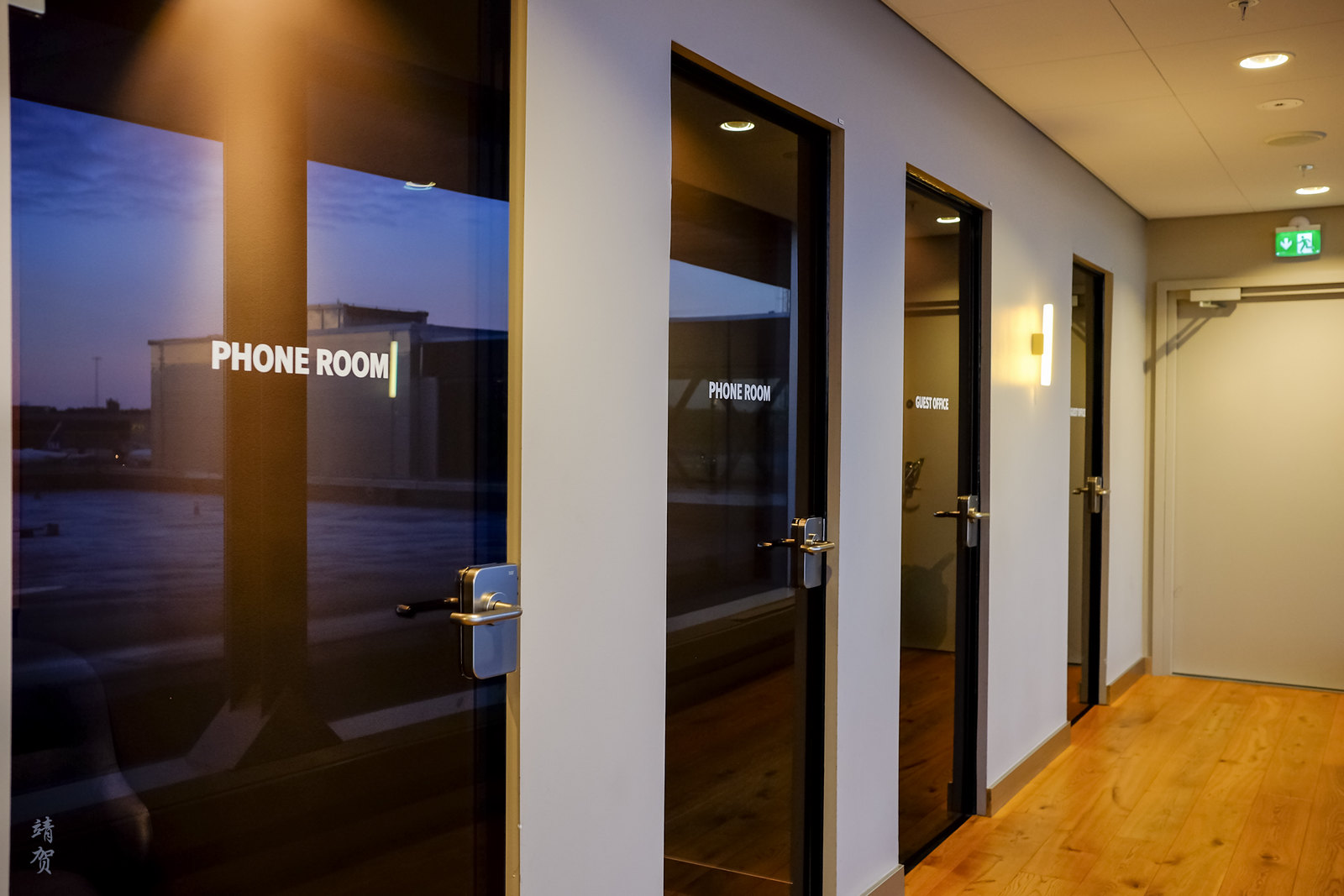 Private phone rooms and offices