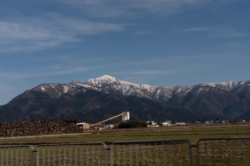 大野市から見る荒島岳