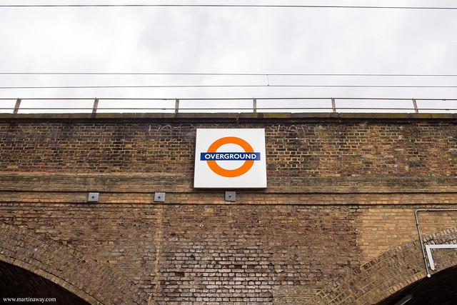 Overground a Londra