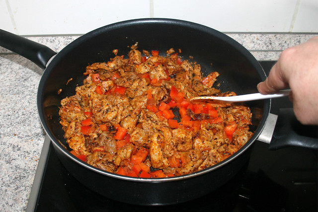 15 - Paprika andünsten / Braise bell pepper