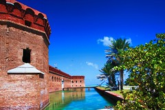 Fort Jefferson, Dry Tortugas National Park, Florida.