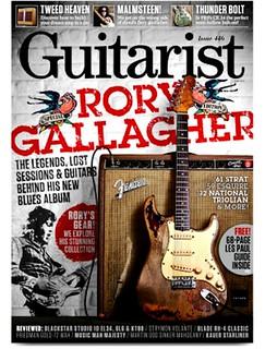 Rory Gallagher - Guitarist Magazine  - Issue 446, June 2019