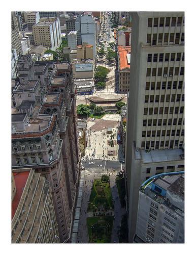 southamerica brasil saopaulo centre ruaboavista highrises cityscape
