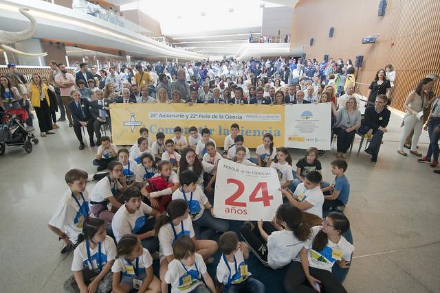 24º Aniversario del Parque de las Ciencias y 22ª Feria de la Ciencia