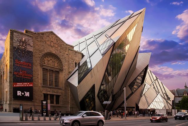 ROM - Royal Ontario Museum in Toronto Canada