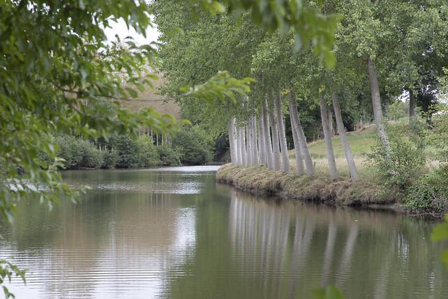 Le gué de Loré sur la Mayenne