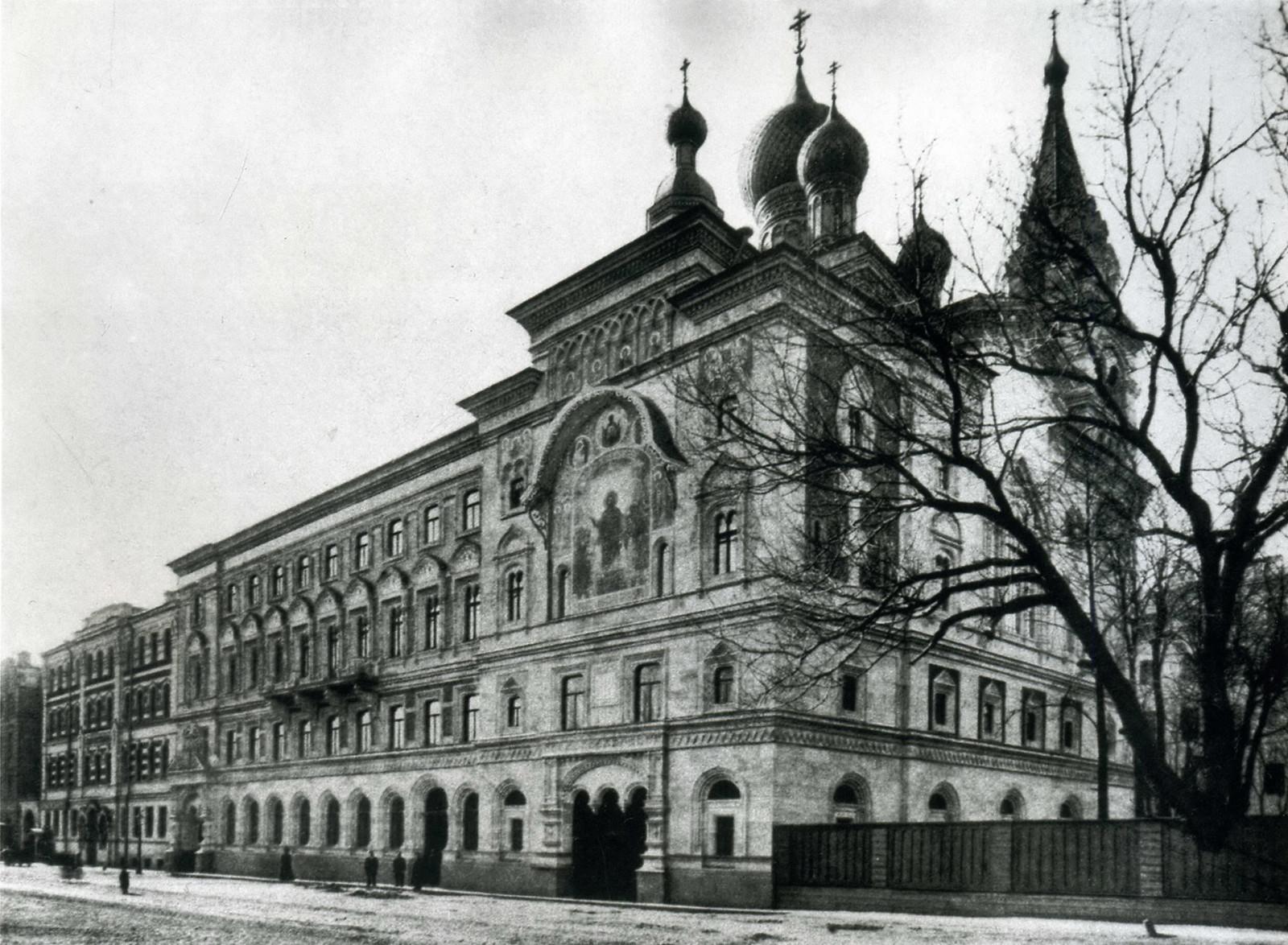Здание Училищного совета Святейшего Синода. Кабинетная ул.13