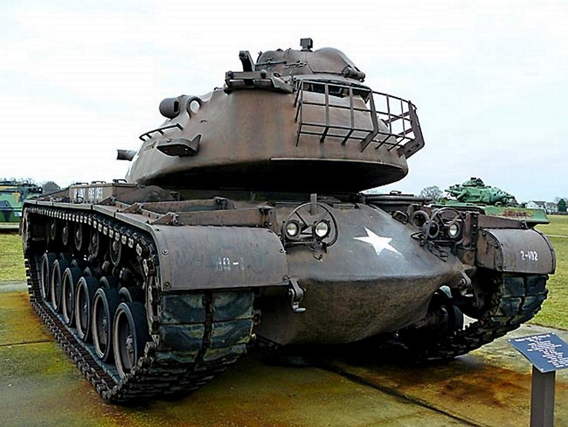 M48 Patton Medium Tank 00002