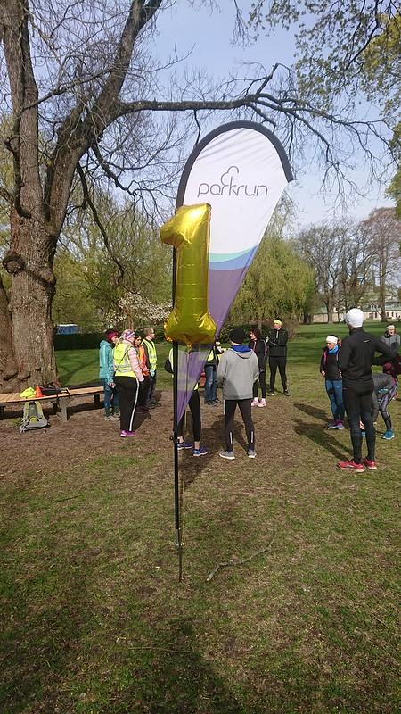 Uppsala Parkrun #50 One Year anniversary