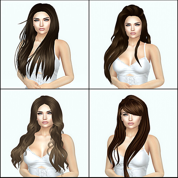 Free Dove Hair Set 1