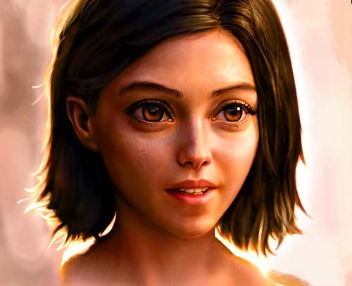 Alita in Color   by Keygenus