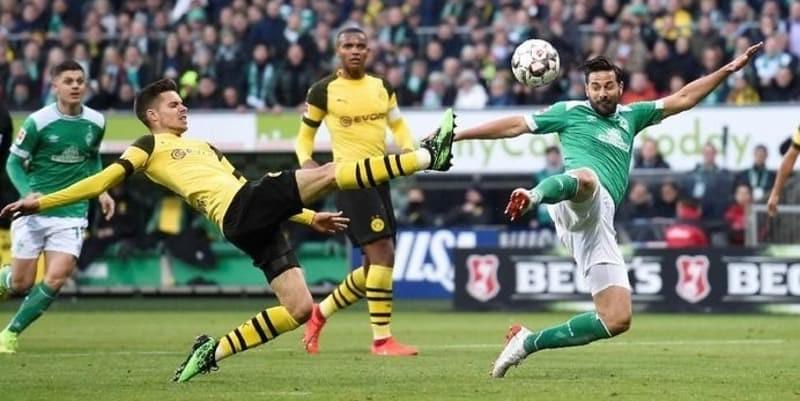Diimbangi Bremen, Dortmund Gagal Dekati Bayern