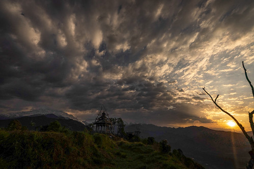 2019 ilce7m2 sony colour nepal astam annapurna sunrise landscape temple religion architecture cloud wanderlust travel