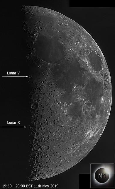 Lunar X & V on 48% Waxing Moon 11/05/19