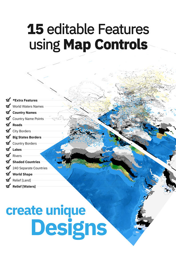 World Map ToolKit for Premiere Pro - 3