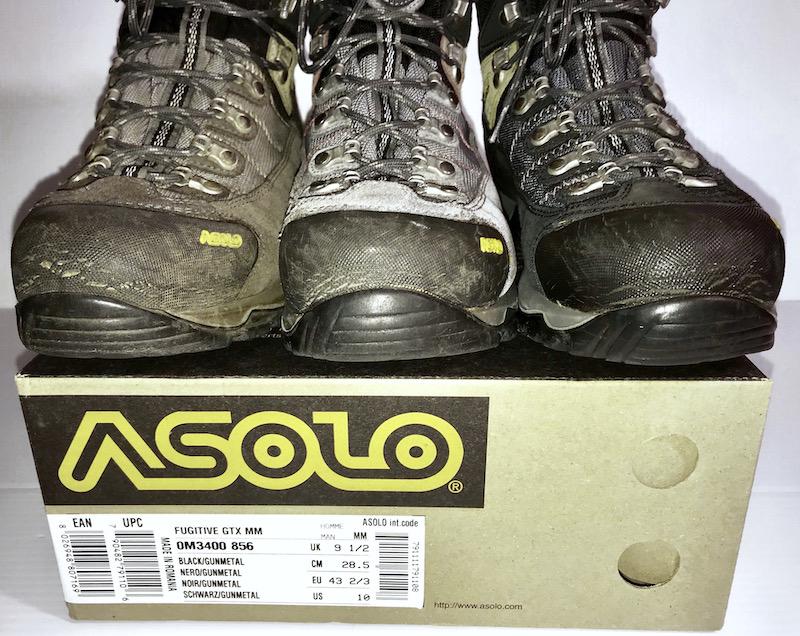 Asolo: Fugitive GTX Hiking Boots