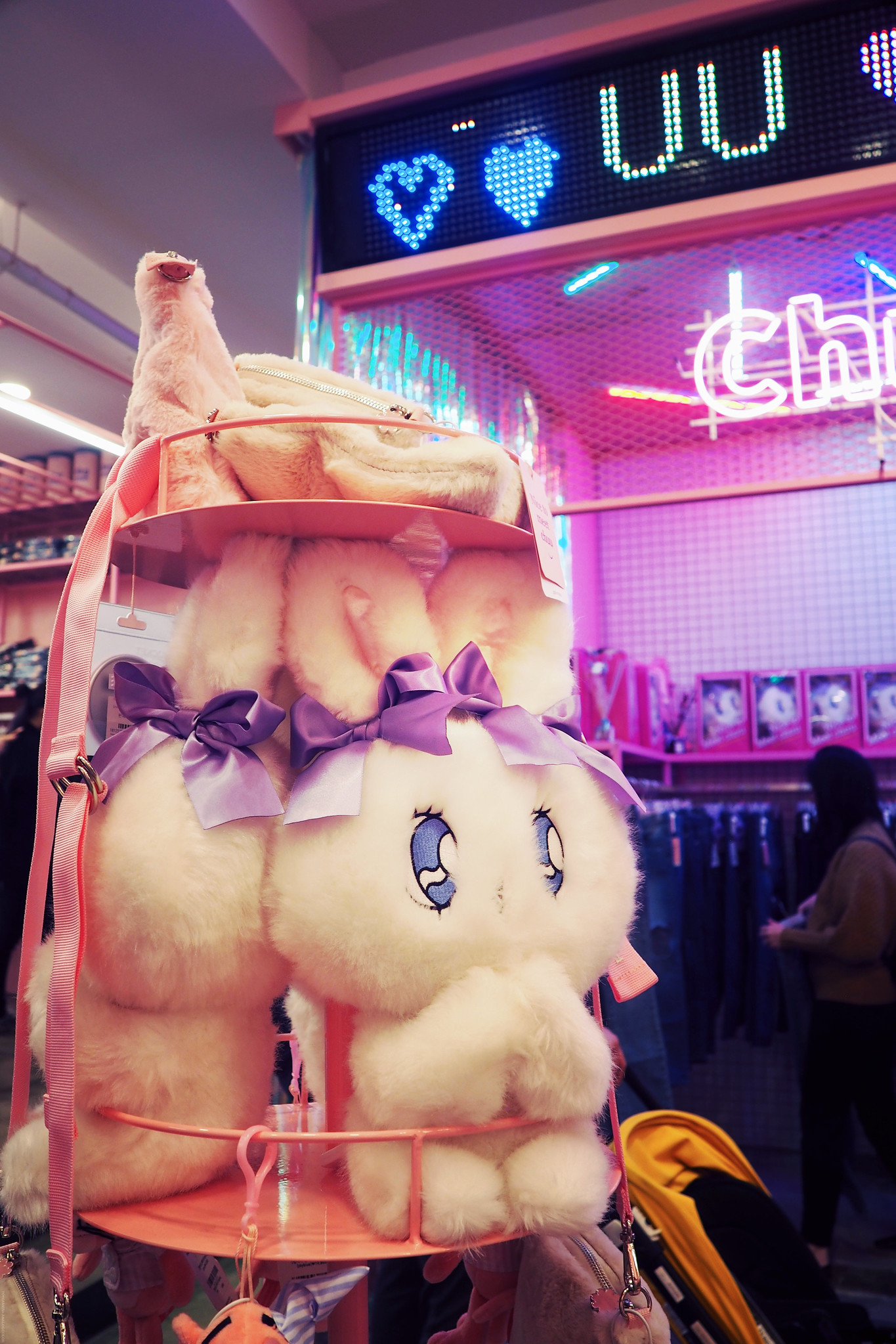 Estherlovesyou Teddy Bear Plushie Esther Bunny_effected