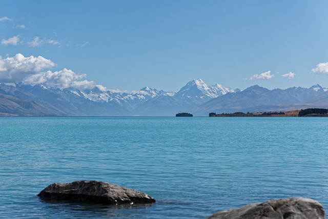 Mt Cook from Lake Pukaki, NZ