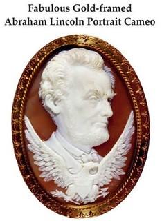 Lincoln cameo portrait full