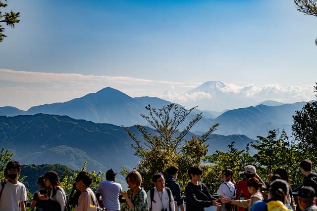 Mt. Fuji from Mt. Takao