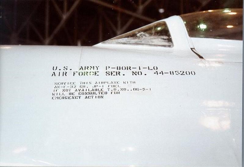 Lockheed P-80 Shooting Star 00004