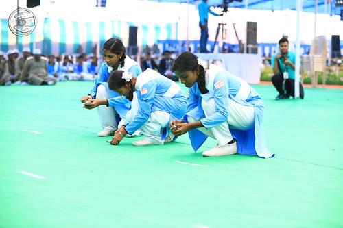 A game by ladies Sewa Dal