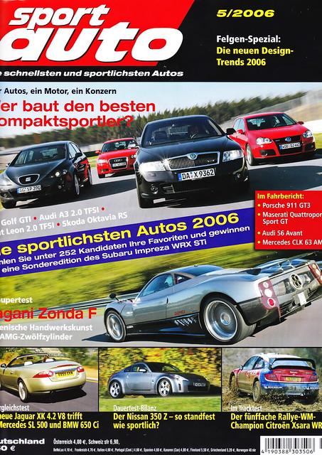 Image of sport auto 5/2006